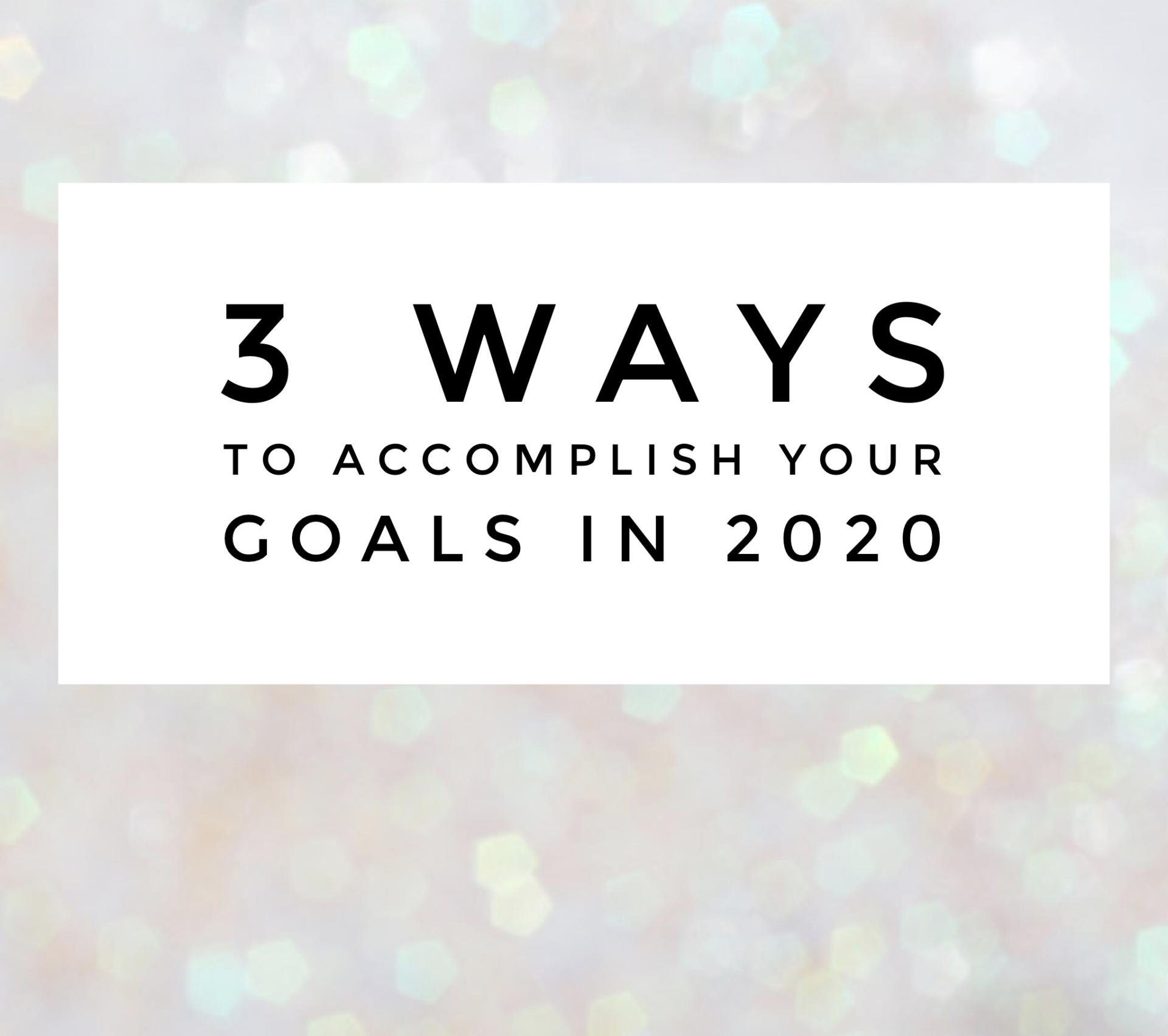 You Didn't Accomplish Your Yearly Goals… Now What?!