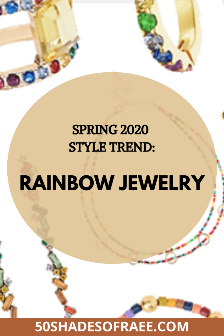 list of jewelry for rainbow style trends on 50 shades of raee dot com