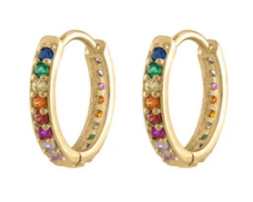 Rainbow hoops from Maison Miru