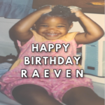 birthday blog post to raeven from 50 shades of raee dot com