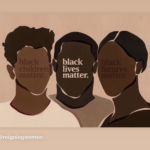 creative image to raise awareness to black lives matter movement created by reigning women on instagram