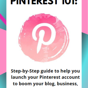 cover page to pinterest 101 guide from 50 shades of raee dot com