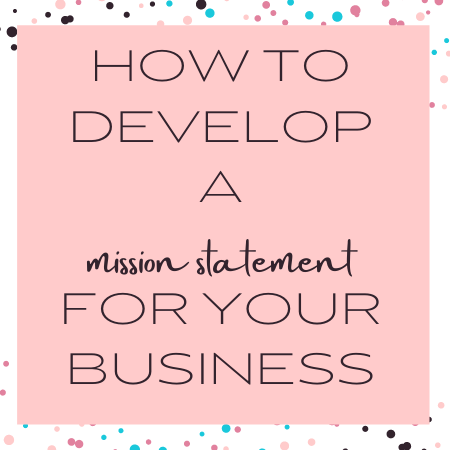 how to develop a mission statement for business blog post